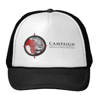 Campaña contra el gorra de búsqueda conservado del