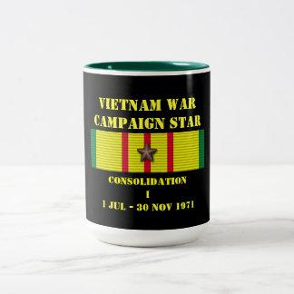 Campaña de la consolidación I Taza De Dos Tonos