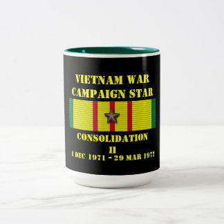 Campaña de la consolidación II Taza De Dos Tonos