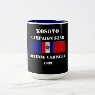 Campaña de la defensa de Kosovo Taza De Dos Tonos