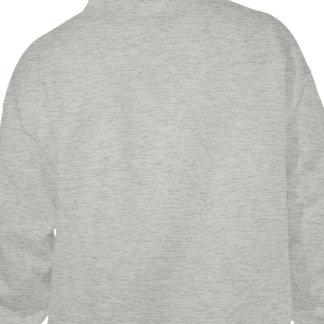 Campaña de la defensiva del aire sudadera pullover