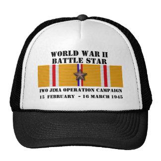 Campaña de la operación de Iwo Jima Gorros
