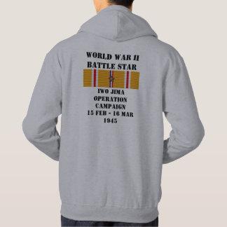 Campaña de la operación de Iwo Jima Sudadera