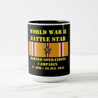 Campaña de las operaciones de Borneo Taza De Dos Tonos