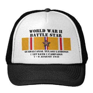 Campaña de los aterrizajes de Guadalcanal Tulagi ( Gorras