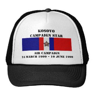 CAMPAÑA DEL AIRE DE KOSOVO GORRA