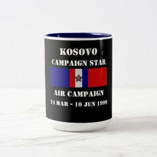 Campaña del aire de Kosovo Taza Dos Tonos