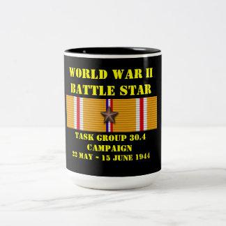 Campaña del grupo de trabajo 30,4 taza de dos tonos