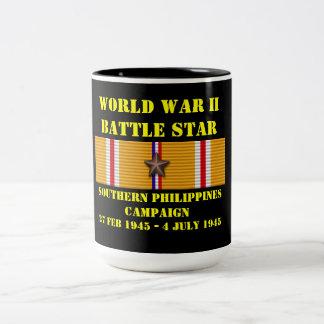 Campaña meridional de Filipinas Taza De Dos Tonos
