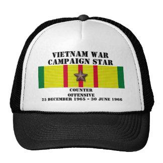 Campaña ofensiva contraria gorras