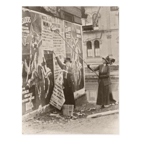 Campaña para mujer del sufragio postal