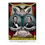 Campaña presidencial 1864 de Abraham Lincoln Tarjeta Postal