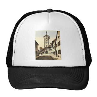 Campanario (Tor) del klingen, Rothenburg (es decir Gorras