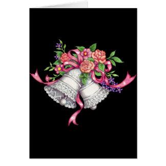 campanas de boda, invitación de boda tarjeta de felicitación
