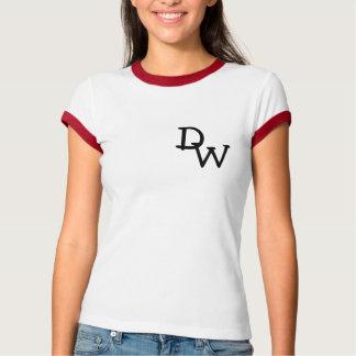 Campanero de las señoras #3 del desgaste de la camiseta