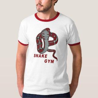 Campanero del gimnasio de la serpiente camiseta