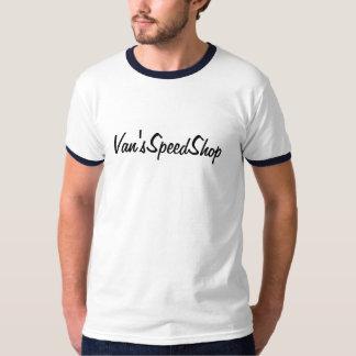 Campanero T de la tienda de la velocidad de Van Camiseta