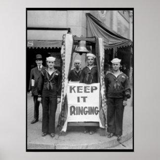 Campaneros de Bell en Seattle, imagen de Wash_War Póster