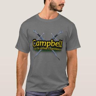 Campbell el clan escocés de la experiencia camiseta