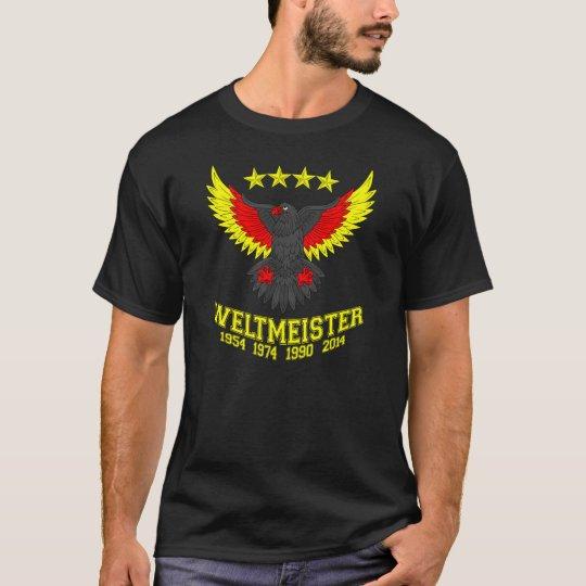 Campeón 2014 del mundo de Alemania Camiseta