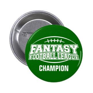 CAMPEÓN del fútbol FFL de la fantasía Pin