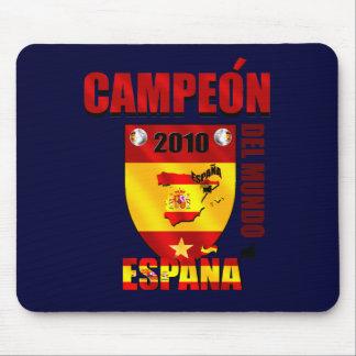 Campeón Del Mundo España Alfombrillas De Ratones