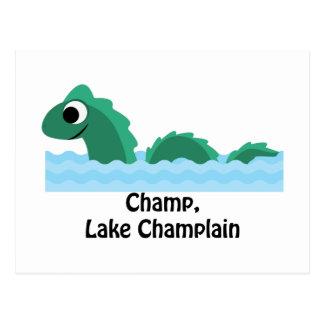 Campeón, lago Champlain Postal