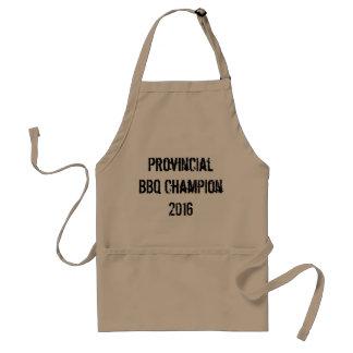 Campeón provincial 2016 del Bbq Delantal