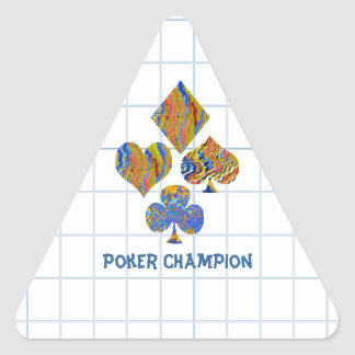 Campeonato de la noche del PÓKER Colcomanias De Triangulo