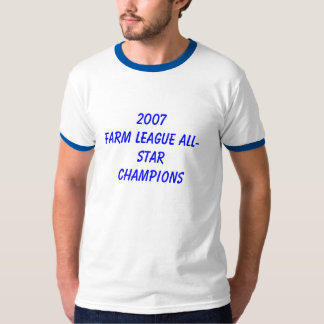 CAMPEONES ALL-STAR de la LIGA 2007FARM Camiseta