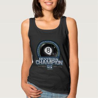 Campeones de la división de la bola de APA 8 Camiseta Con Tirantes