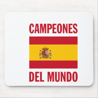 CAMPEONES DEL MUNDO TAPETES DE RATON