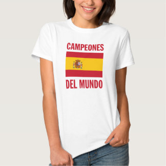 CAMPEONES DEL MUNDO CAMISETAS