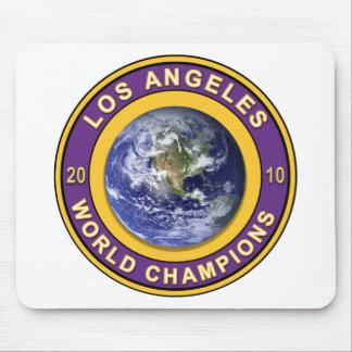 Campeones del mundo de Los Ángeles Alfombrilla De Raton