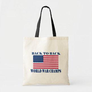 Campeones indiscutibles de la guerra mundial, band bolsa de mano