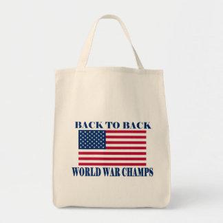 Campeones indiscutibles de la guerra mundial, band bolsas