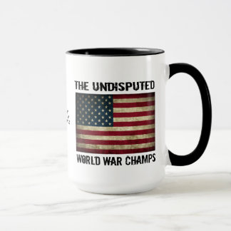 Campeones indiscutibles de la guerra mundial - taza