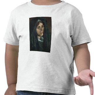 Campesino con el mantón del verde de musgo, c.1885 camisetas