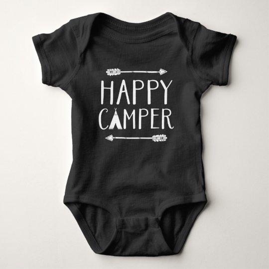 Campista contento body para bebé