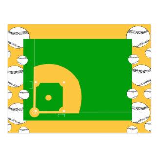 Campo de béisbol postal