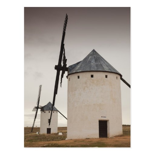 Campo de Criptana, molinoes de viento antiguos 5 d Postal