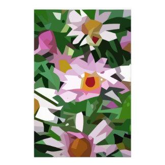 Campo de flores papéis personalizados