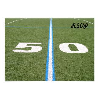 Campo de fútbol cincuenta comunicados personales