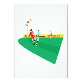 Campo de fútbol comunicado