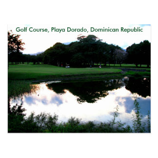 campo de golf en la República Dominicana Postal