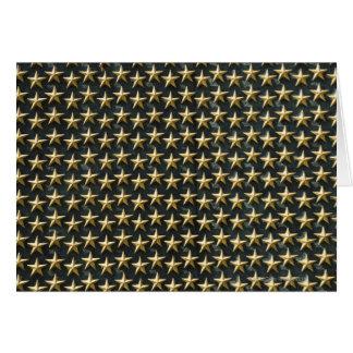 Campo de las estrellas del oro en el monumento de  felicitacion
