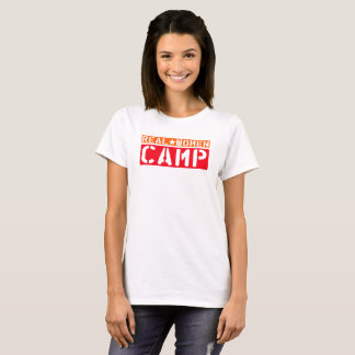 Campo de las mujeres reales camiseta