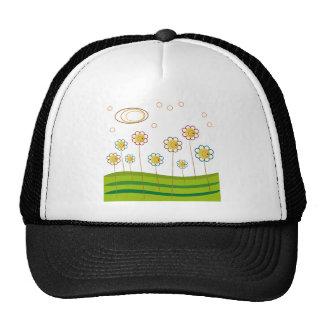 campo de margaritas gorra