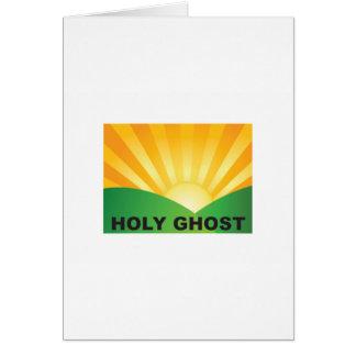 campo del espíritu santo tarjeta de felicitación