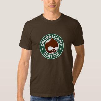 Campo Seattle - Brown oscuro de Drupal Camiseta